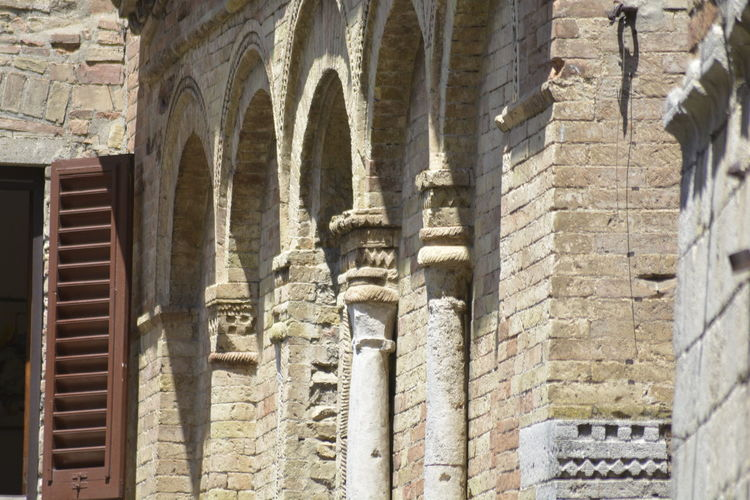 2018 Architecture Nature San Gimignano Toscana Building Europe Italy Old Photography Struckture