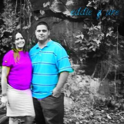 con mi esposo amado