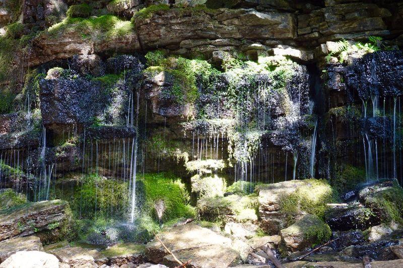 Moss Rocks Water Dream