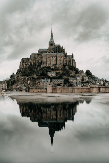 Mount of saint michael in france