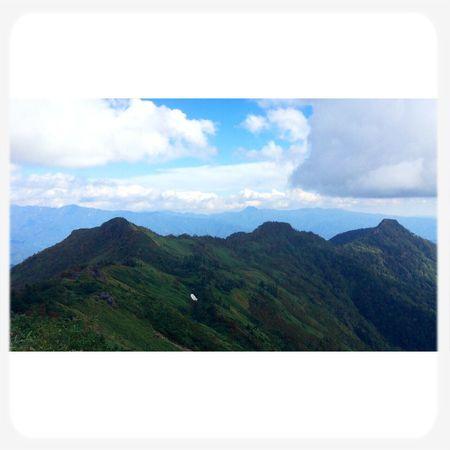 武尊山 Fromthetrails Skyandclouds  Landscape 75mile