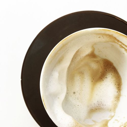 Cappuccino Empty Milk Froth Milk Coffee Coffee To Stay Minimalism