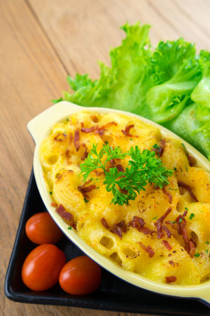 macaroni and cheese homemade food Close-up Day Food Food And Drink Freshness Garnish Gourmet Healthy Eating Indoors  Indulgence Meal No People Plate Ready-to-eat Serving Size Table