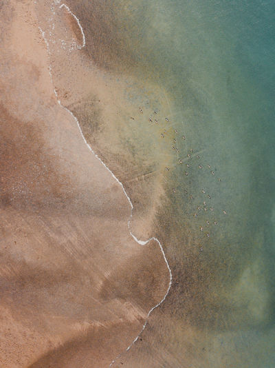 Abstract image of road on land