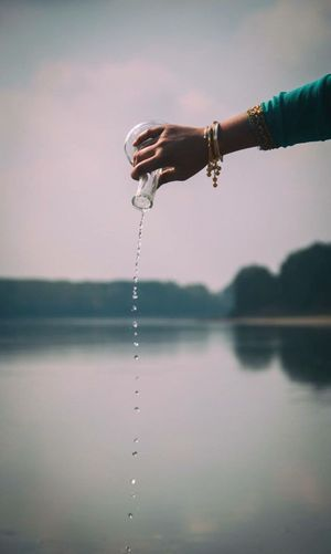 Watermap Water Watermap Hands India Holy Water 432hz Ritual Water Ritual Fiume Po EyeEm New Here EyEmNewHere