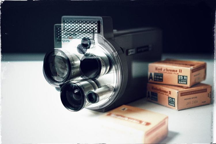 anachronism 02 Movie Camera Vintage Retro Technology Analogue Lens Camera Film Camera Multiple Exposure Movement Antique Still Life Photography Themes Camera - Photographic Equipment Photographic Equipment Close-up