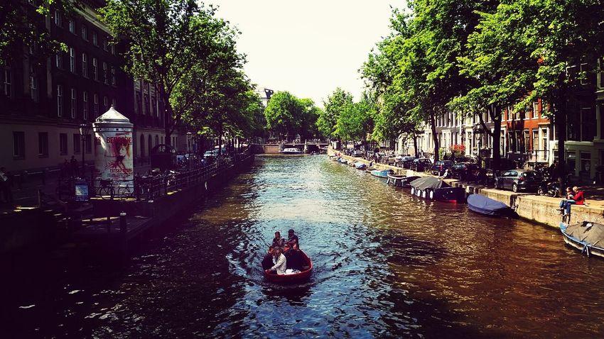 Amsterdam Pretty Canal Scenicview