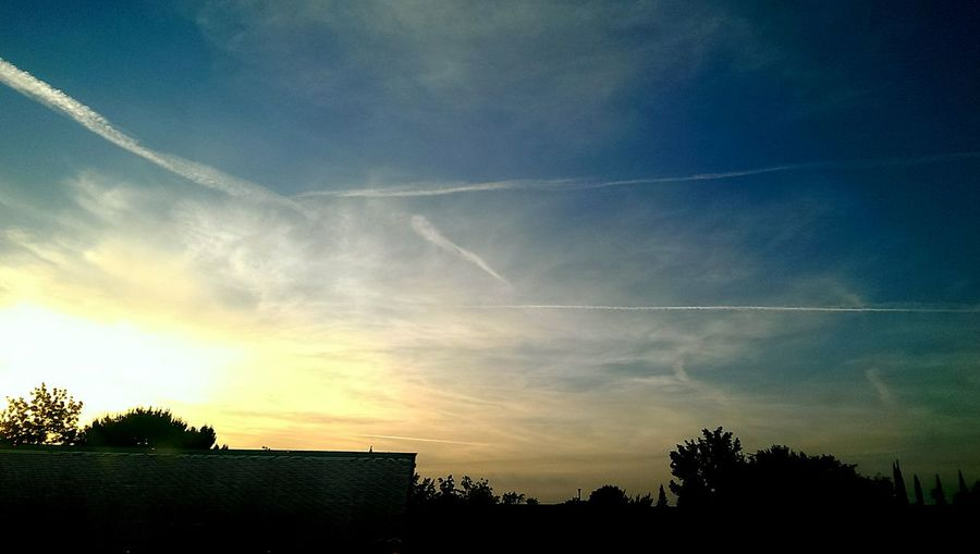 This was on 80 east in Sacramento. I couldn't count all the stripes in the sky we watched appear on our drive. Smh... SkyPics Chemtrails Look Up Stripes Not Contrails Norcal I80 Sacramento Tictactoe Hashtag In The Sky