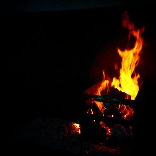 Braai Saturdaynight Fire Darknight lekkermanlekker