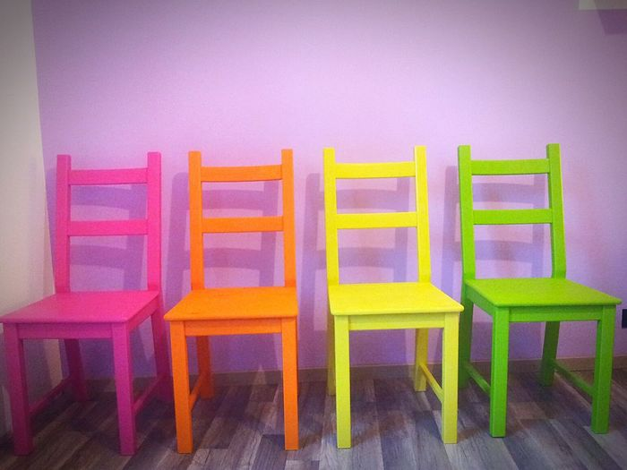 Colours Chairs Colors Taking Photos Happiness Ismyflat Workinprogress The Moment - 2015 EyeEm Awards ArtWork Showmetherainbow