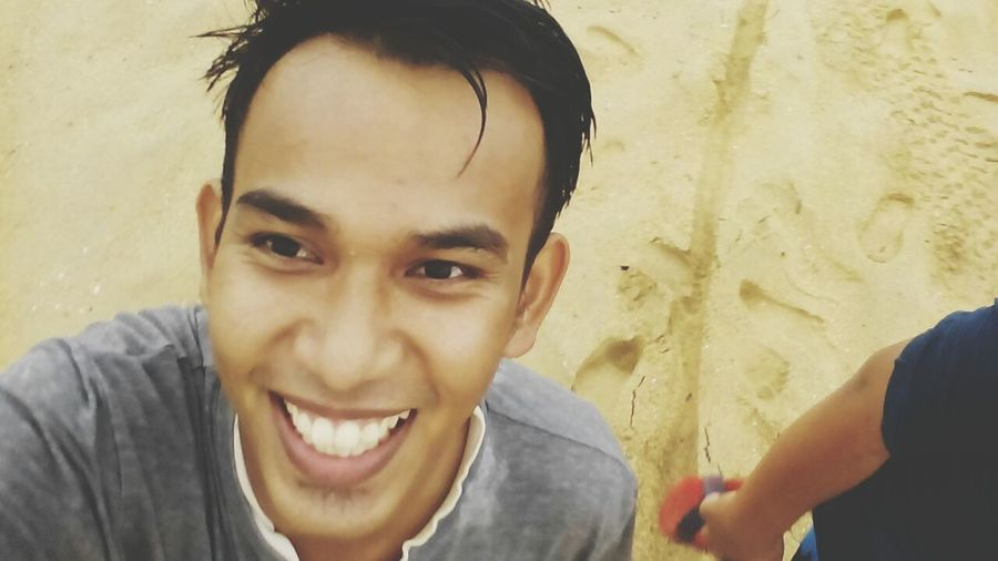 throwback… xdak keja,mandi laut.. *wink First Eyeem Photo