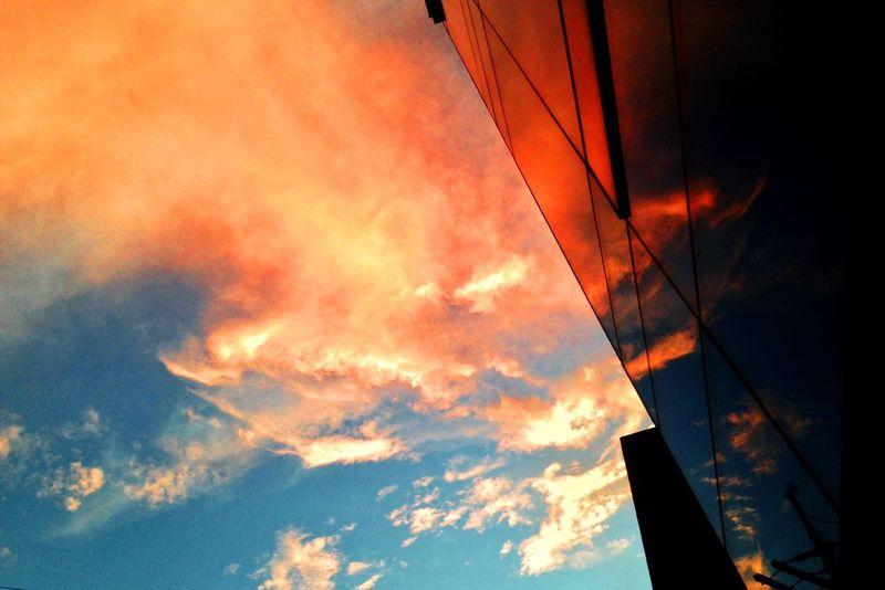 Clouds And Sky Sky Orange Sky 같은 하늘 다른 시선