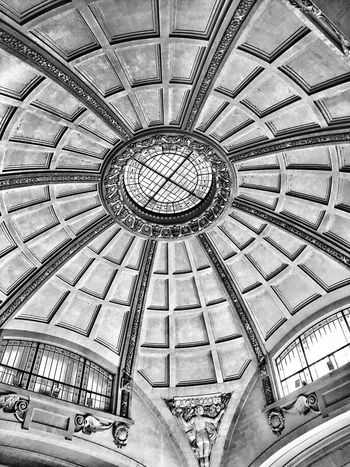 Awesome EyeEm Masterclass EyeEmBestEdits Photo EyeEm Gallery EyeemTeam EyeEmBestPics EyeEm Best Shots - Black + White EyeEm Best Edits EyeEmbestshots EyeEm Best Shots Dome Modern Architecture Details Low Angle View Indoors  Ceiling Low Angle View Pattern Architecture Built Structure No People Day Architectural Design Architecture And Art Architecture Welcome To Black The Architect - 2017 EyeEm Awards The Street Photographer - 2017 EyeEm Awards Neighborhood Map