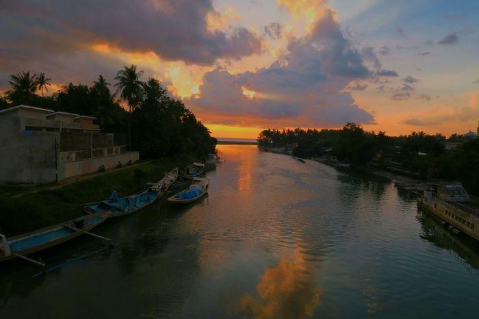 Meninting Lake Sunset Lombok Island MataramCity Mataram Lombok Showcase June