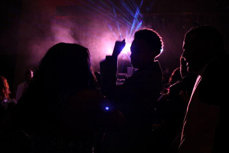 Audience Enjoying Popular Music Concert