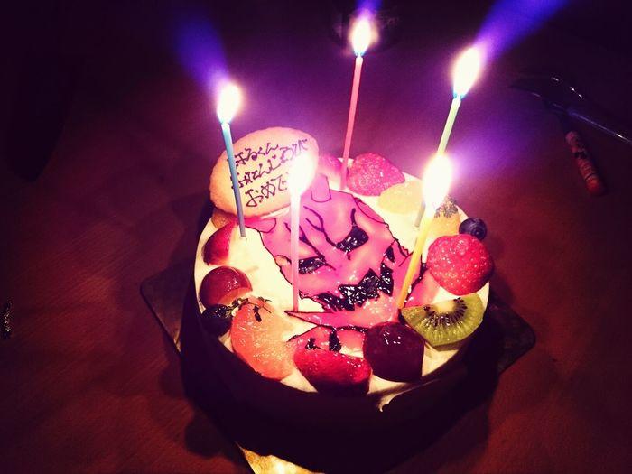息子5歳の誕生日 ケーキ 仮面ライダー電王 モモタロス