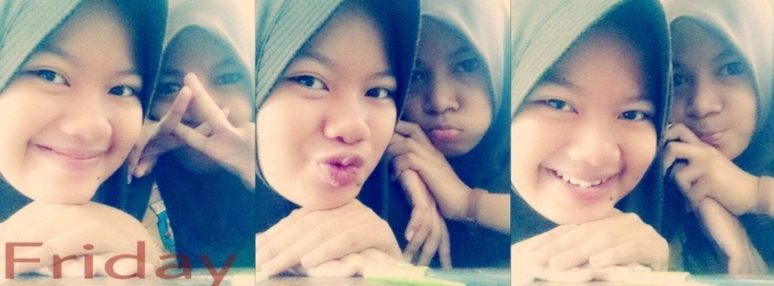 Me ! And My Friend in School Serang