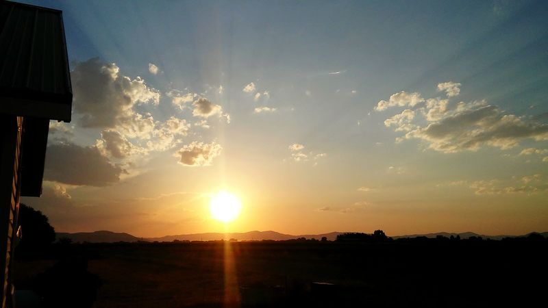 Relaxing Taking Photos Enjoying Life Check This Out Ahhh Hello World Mountain Peaceful View Peaceful Evening Relaxing MomentsBeautiful Cloudy Day Sunset Beautiful Sunset Yellow Orange