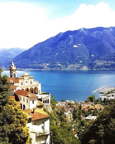 Madonna de Sasso, Locarno, Switzerland Wonderful View Locarno, Switzerland Lago Maggiore Lakes And Mountains