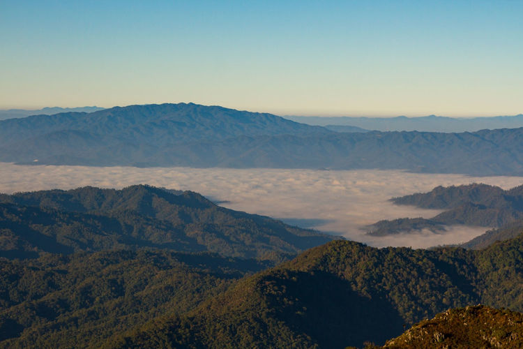 Doi luang chiang dao at chiang mai province in thailand is a very popular for photographer
