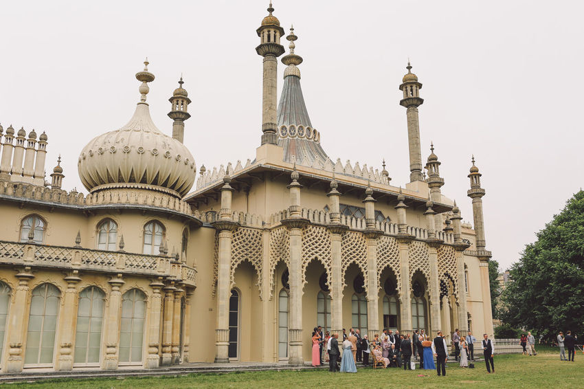 Arch Architectural Column Architectural Feature Architecture Brighton Built Structure Capital Cities  City Day Dome Façade Famous Place Grass History International Landmark Lawn Lifestyles Outdoors Royal Pavilion Royal Pavilion Gardens Sky Tourism Tourist Travel Destinations Vacations