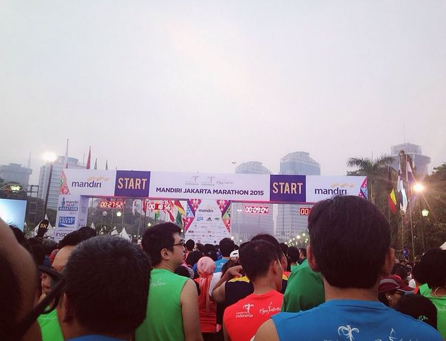 Ready For Run. At Monas, in JakartaMarathon2015. A Place By ITag View By ITag Runners By ITag Hobbies By ITag JakartaMarathon2015 By ITag The City I Live In