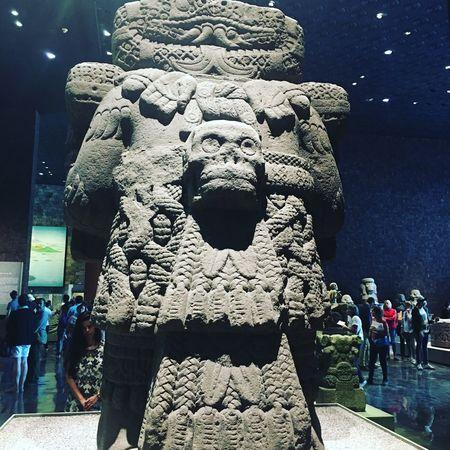 Sculpture Mexico Antropology Stone Aztecs