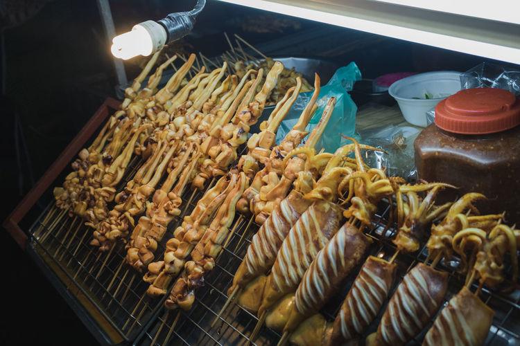 street food at
