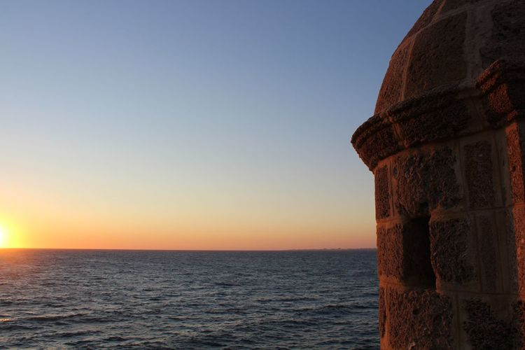 Sky Sea Water Horizon Sunset Horizon Over Water Scenics - Nature