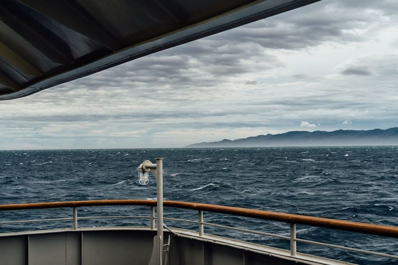 Cloudy Sky Cloud And Sea Ship Deck Sadogashima No People Horizon Over Water Dark Clouds Before The Storm Traveling Photography Beauty In Nature Power In Nature Travel Photography Dark Clouds Above Approaching Storm Clouds Time Is Running Out Gray Sky Storm Cloud The End Of Trip September September 2017