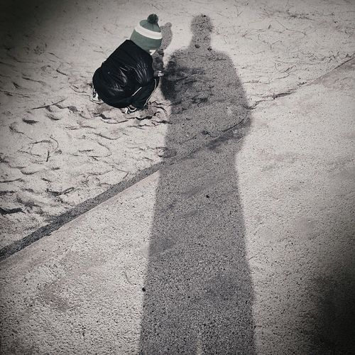 Family Children Father & Son Modern Father IPSShadows The Moment - 2015 EyeEm Awards Beauty Redefined Creative Light And Shadow Collected Community Shades Of Grey B&w Street Photography