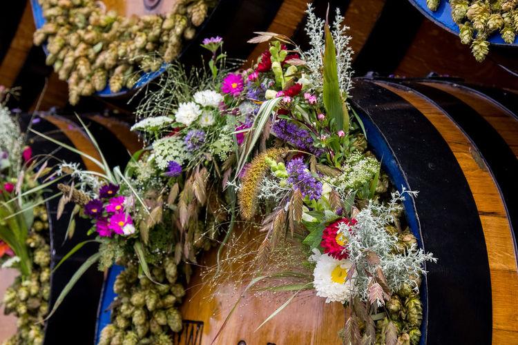 A day at Oktoberfest Oktoberfest Oktoberfest 2017 Tradition Wiesn Wiesn 2017 Bierwagen Celebration Close-up Flower Flowers