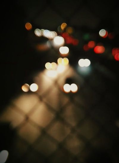 Defocused Night
