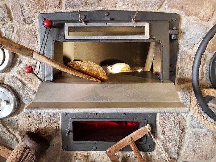 Palma De Mallorca Mallorca Loaf Of Bread Bakery Oven Bread Wood - Material Baking Bread