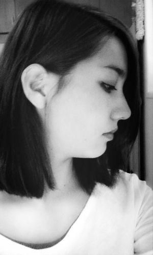 Profile. Blackandwhite