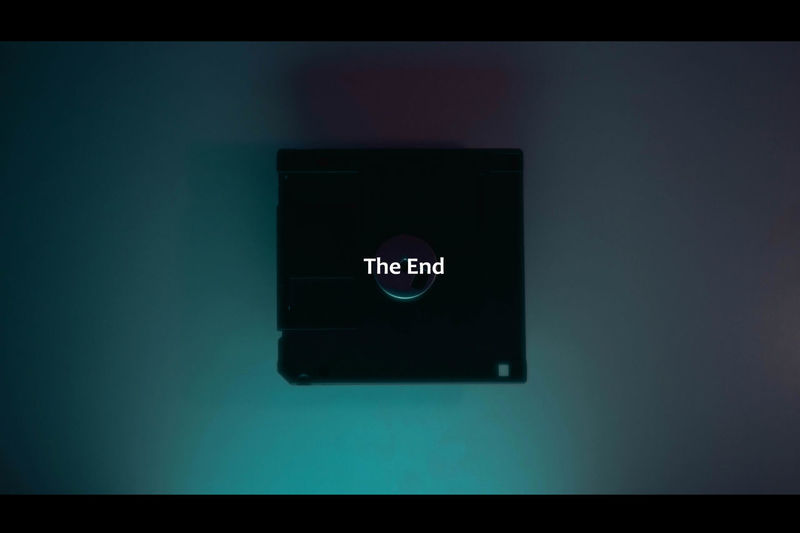 The End? The Week On EyeEm Close-up Communication Day Device Screen Disc Disceta Indoors  Minimal Minimalism No People Sad Technology Tehnology Text Theend