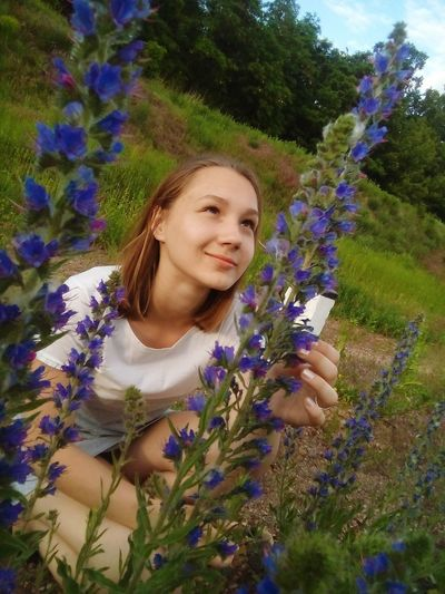 Flower Lavender Nature Purple Plant Growth Lavender Colored Beauty Wildflower Young Women Beautiful Woman Young Adult Scented One Person Only Women Adult Field Flowerbed People Uncultivated