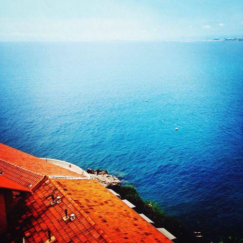 Landscape French Riviera France Sea And Sun