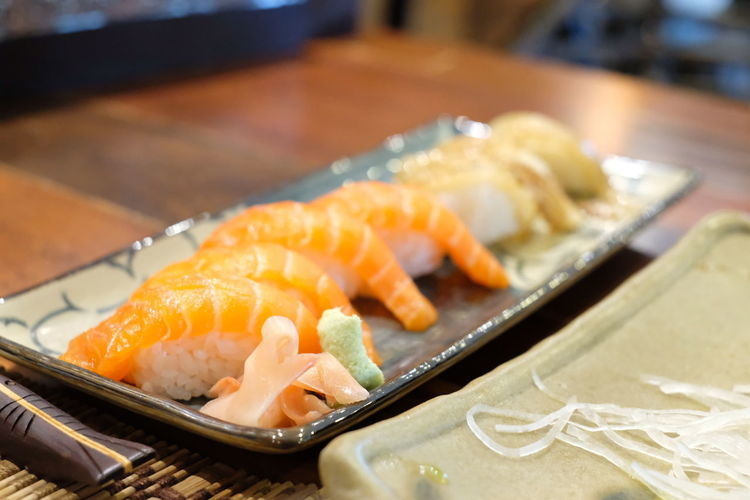 EyeEm Selects Sashimi  City Sushi Seafood Plate Cultures Japanese Food Fish Close-up Food And Drink