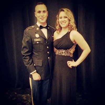Military ball with my army man ArmyStrong Therocksprings