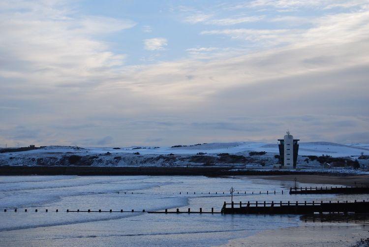 Sea Snow Shades Of Winter