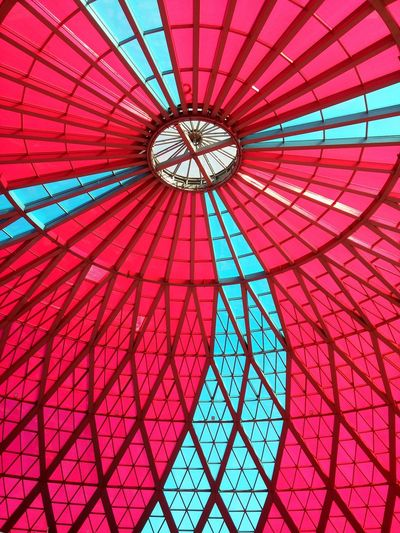 The Architect - 2018 EyeEm Awards Full Frame Red Dome Pattern Ceiling Architecture Sky EyeEmNewHere