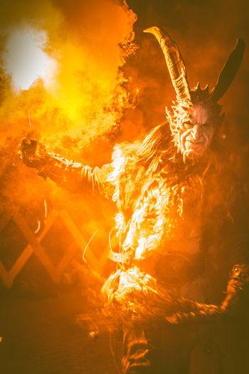 Krampus Flame