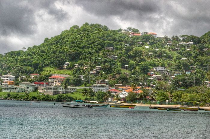 Grand Anse Hdr Photography Coastline Seascape Grenada Beach