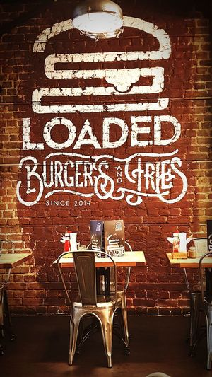 Burgers Burgerrestaurant Goodfood Cafe Chair Table Restaurant Bar - Drink Establishment