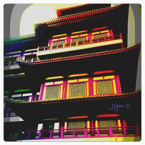 A Temple walk at Chinatown, Singapore