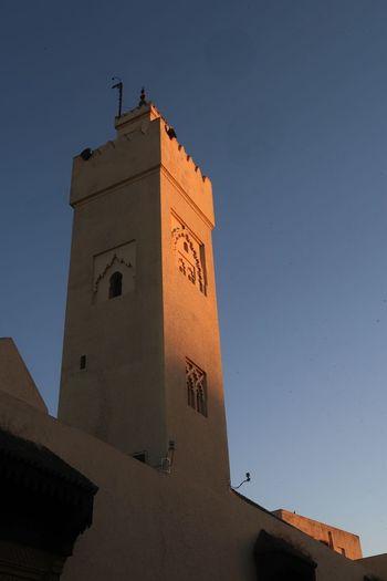 Minaret in the
