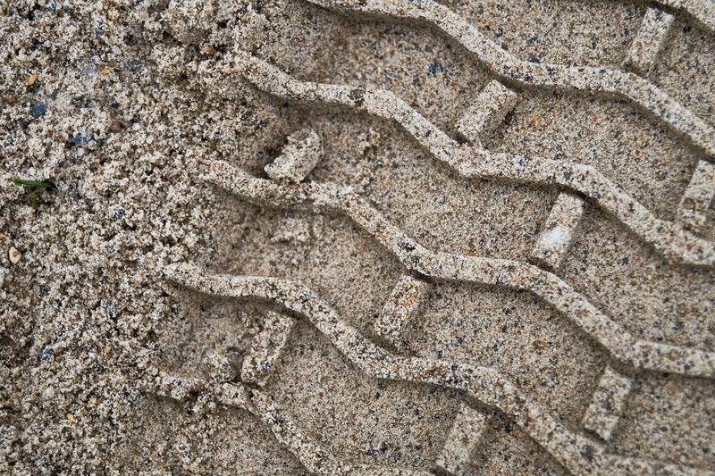 Full frame shot of a sand