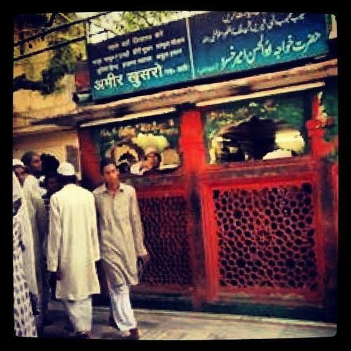 Dargah AmirKhusrow Tooti-e-Hind Poet Scholar  Subcontinent NizamuddindDargahComplex DelhiHeritage Composite Culture