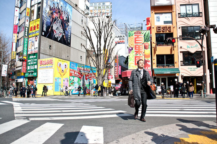 Tokyo Japan Tokyo,Japan Shinjuku Colors People Crossroads Crosswalk